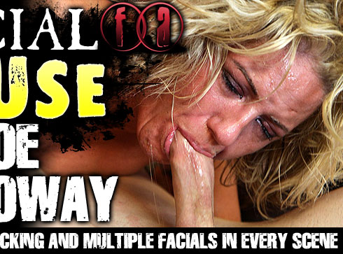 Facial Abuse Starring Zoe Holloway